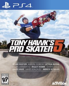 Tony Hawk's Pro Skater 5 PS4  PSN Mídia Digital