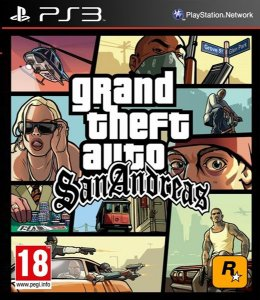 Grand Theft Auto San Andreas - GTA PS3 PSN Mídia Digital