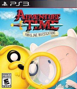 Adventure Time: Finn and Jake Investigations PS3 PSN Mídia Digital Promoção