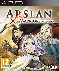 ARSLAN: THE WARRIORS OF LEGEND PS3 PSN Mídia Digital