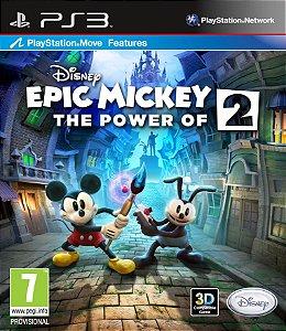 Disney Epic Mickey 2: The Power of Two PS3 PSN Mídia Digital