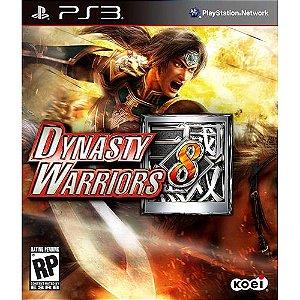Dynasty Warriors 8 PS3 PSN Mídia Digital
