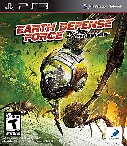 Earth Defense Force: Insect Armageddon PS3 PSN Mídia Digital