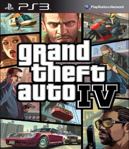 Grand Theft Auto IV 4 PS3 PSN Mídia Digital