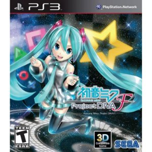 Hatsune Miku: Project DIVA F PS3 PSN Mídia Digital