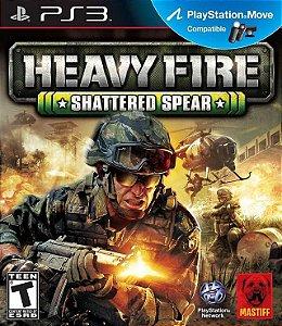 Heavy Fire: Shattered Spear PS3 PSN Mídia Digital