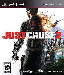 Just Cause 2 PS3 PSN Mídia Digital PROMOÇÃO