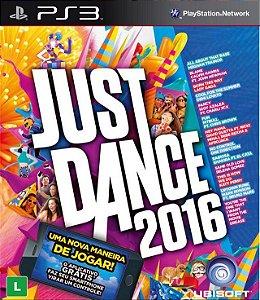 Just Dance 2016 PS3 PSN Mídia Digital Promoção