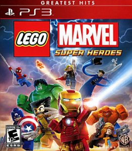 LEGO® Marvel™ Super Heroes PS3 PSN Mídia Digital