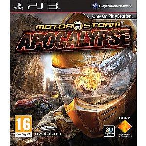 MotorStorm Apocalypse PS3 PSN Mídia Digital Promoção