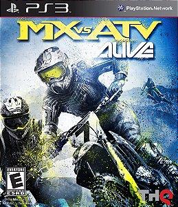 MX vs ATV: Alive PS3 PSN Mídia Digital Promoção