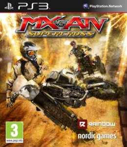 MX vs. ATV Supercross PS3 PSN Mídia Digital Promoção