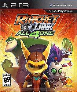 Ratchet & Clank: All 4 One PS3  PSN Mídia Digital