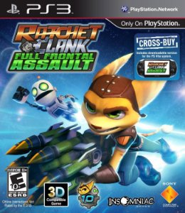 Ratchet & Clank: Full Frontal Assault PS3  PSN Mídia Digital Promoção