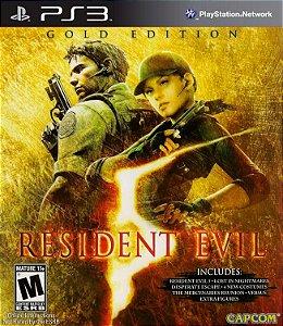 Resident Evil 5 GOLD EDITION PS3  PSN Mídia Digital