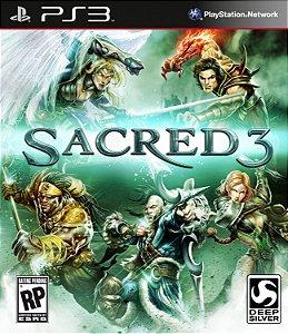 Sacred 3 PS3  PSN Mídia Digital Promoção