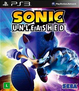 Sonic Unleashed PS3  PSN MÍDIA DIGITAL