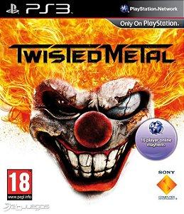 Twisted Metal PS3  PSN Mídia Digital Promoção