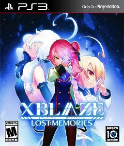 XBlaze Lost: Memories PS3 PSN Mídia Digital