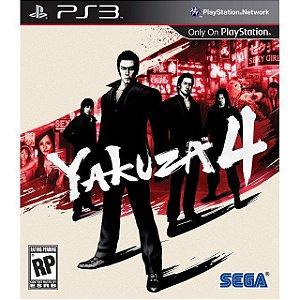 Yakuza 4 PS3 PSN MÍDIA DIGITAL