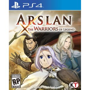 ARSLAN: THE WARRIORS OF LEGEND PS4 PSN Mídia Digital