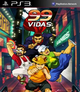 99Vidas PS3 PSN Mídia Digital