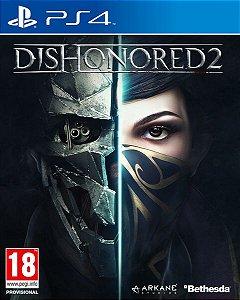 Dishonored 2 PS4 PSN Mídia Digital