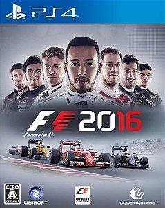 F1 2016 PS4 PSN mídia Digital