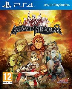 Grand Kingdom PS4 PSN mídia digital
