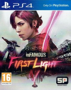 inFAMOUS First Light PS4 PSN Mídia Digital