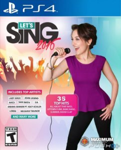 Let's Sing 2016 PS4 PSN mídia digital