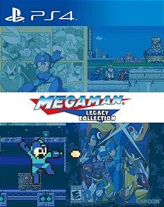 Mega Man Legacy Collection 1 & 2 Combo Pack PS4 PSN Mídia Digital