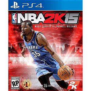 NBA 2K15 PS4 PSN Mídia Digital