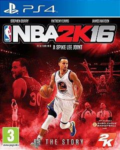 NBA 2K16 PS4 PSN Mídia Digital