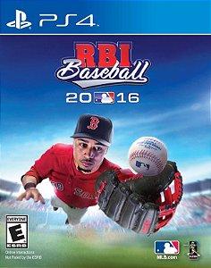 R.B.I. Baseball 16 PS4  PSN Mídia Digital