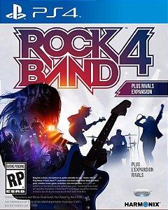 Rock Band 4 Rivals Bundle PS4  PSN Mídia Digital