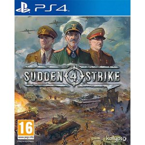 Sudden Strike 4 PS4  PSN Mídia Digital