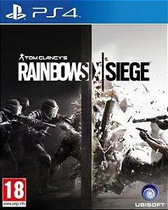 Tom Clancy's Rainbow Six Siege PS4  PSN Mídia Digital