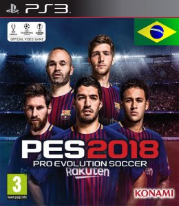 PES 18 Pro Evolution Soccer 2018 PS3  PSN Mídia Digital