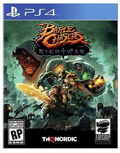 Battle Chasers: Nightwar PS4 PSN Mídia Digital