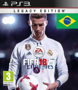FIFA 18 PS3 PSN Mídia Digital