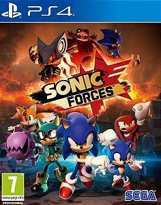 SONIC FORCES™ Edição Digital de Bónus PS4 Mídia Digital PSN