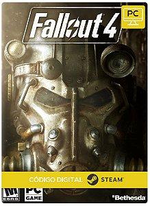 Fallout 4 PC Steam Código de Resgate digital
