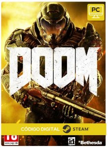 Doom PC Steam Código de Resgate digital