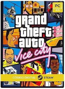 Grand Theft Auto: Vice City Steam Código De Resgate Digital
