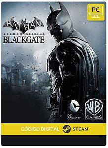 Batman: Arkham Origins Blackgate Steam Código De Resgate Digital