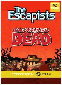 The Escapists The Walking Dead Steam Código De Resgate Digital