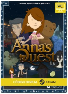 Anna's Quest Pc Steam Código De Resgate Digital