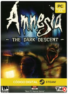 Amnesia: The Dark Descent Steam Código De Resgate Digital
