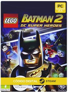 Lego Batman 2 Dc Super Heroes Steam Código De Resgate Digital